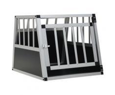 vidaXL Cage pour chien avec une porte 54 x 69 x 50 cm