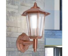 vidaXL Lampe murale extérieure Acier inoxydable Cuivre