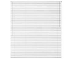 vidaXL Store Aluminium 60 x 220 cm Blanc