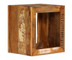 vidaXL Tabouret 40x30x40 cm Bois de récupération solide