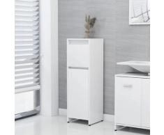 vidaXL Armoire de salle de bain Blanc 30x30x95 cm Aggloméré