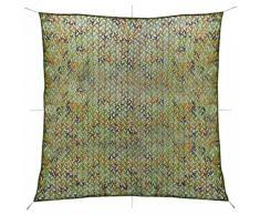 vidaXL Filet de camouflage avec sac de rangement 4 x 4 m
