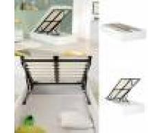 Sommier coffre de rangement Room - Couleurs - Blanc, Tailles - 90x190