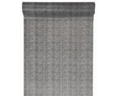 Chemin de table givré gris Taille Unique