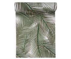 Chemin de table en coton Jungle vert 3 m Taille Unique