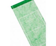 Chemin de table vert motif terrain de foot 5 m Taille Unique