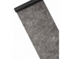 Chemin de table intissé uni noir Taille Unique