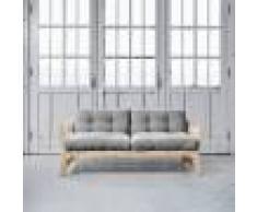 Futon Azur Step brut futon gris clair