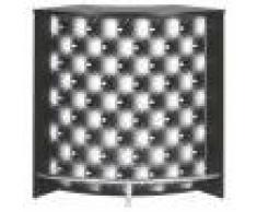 Simmob Meuble Comptoir Bar Acceuil Noir 107 cm