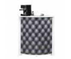 Simmob Meuble-Comptoir Bar 96 cm Blanc