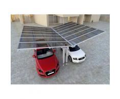 Carport Aluminium Design Abri Voiture: Taille: L (m) 2,5 x P (m) 5,04