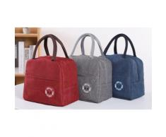 2x Sac isotherme : rouge