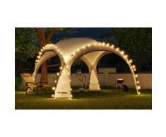 Tente de réception LED solaire : Vert