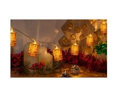Guirlande lumineuse 10 LED : x 4