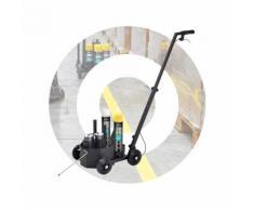 SOPPEC Chariot de marquage SOPPEC 4 roues noir (canne+berceau) - SOPPEC - 441613