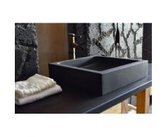 Vasque en pierre basalte noir vA©ritable 40 et 60 KIAMA