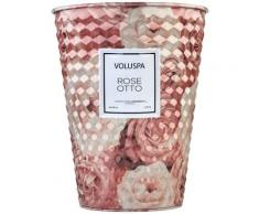 Rose Otto Table Tin Candle BOUGIE