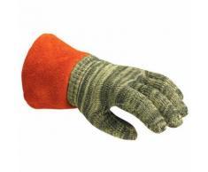 gants de protection thermique antichaleur hotmax t.10 crispin cuir 13 0 mm