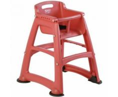 """chaise enfant """"sturdy chair"""" rouge"""