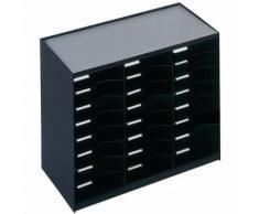 module de classement 24 cases noir 802