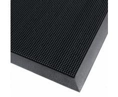 tapis d'entrée extérieur noir 900x1800x16mm