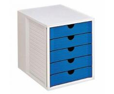 module classement 5 tiroirs tir h ut:4.5 cm h ht:31.5 cm