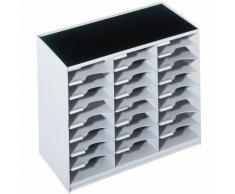 module de classement 24 cases gris 802