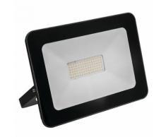 projecteur ilux led aluminium noir 4000lumens - 50w