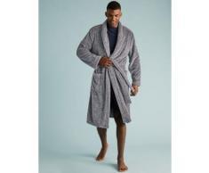 Marks & Spencer Supersoft Dressing Gown - Grey Marl - M