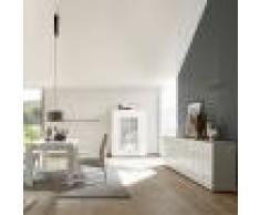 Kasalinea Salle à manger enfilade 4 portes blanc laqué design nerina