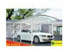 Carport aluminium 3x5 m blanc