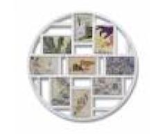 Umbra Cadre photo multivues, pour 9 photos de 10x15cm, blanc