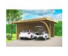 SOLID Carport double 5 m x 6 m