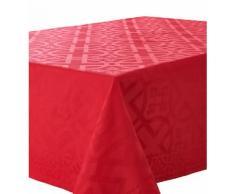 Nappe carrée Idylle - Absolument Maison - Rouge
