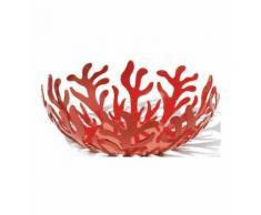 Corbeille à fruits rouge en acier Luna Alessi - Alessi - Rouge