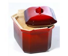 Terrine foie gras oie 0,8 litre rouge - Le Creuset - Rouge