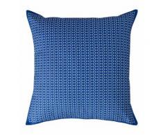Coussin décoratif Trame Bleu Jalla