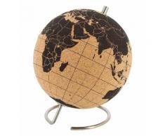 Globe terrestre en liège petit modèle Marron Suck Uk