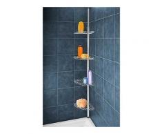 Etagère pour douche télescopique en inox