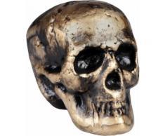 Décoration crâne 17 x 14 cm Halloween Taille Unique