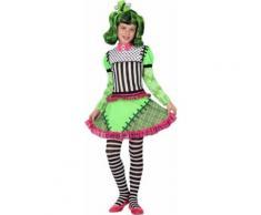 Déguisement monstre vert fille Halloween 7-9ans (130-145 cm)