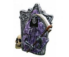 Décoration Halloween pierre tombale violet-gris DE Taille Unique