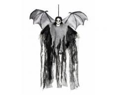 Décoration à suspendre faucheuse chauve-souris 60 cm Halloween Taille Unique