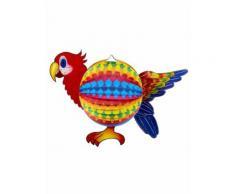 Lampion perroquet 45 cm Taille Unique