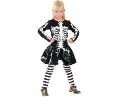 Déguisement squelette fille 7 - 9 ans (M)