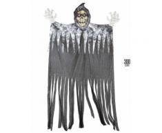 Décoration faucheur géant 3 m Halloween Taille Unique