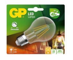 Ampoule GP LED FILAMENT CLASSIC DIM E27 5W-40W