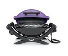 Weber Q1400 PURPLE + 17057 - Barbecue électrique