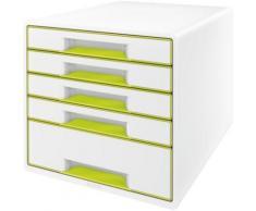 Bloc tiroir Leitz Bloc de classement tiroirs WOW Vert