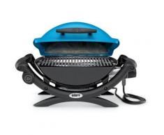 Weber Q1400 BLUE + 17057 - Barbecue électrique